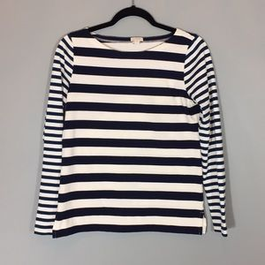 3/$25 J Crew.  Striped shirt